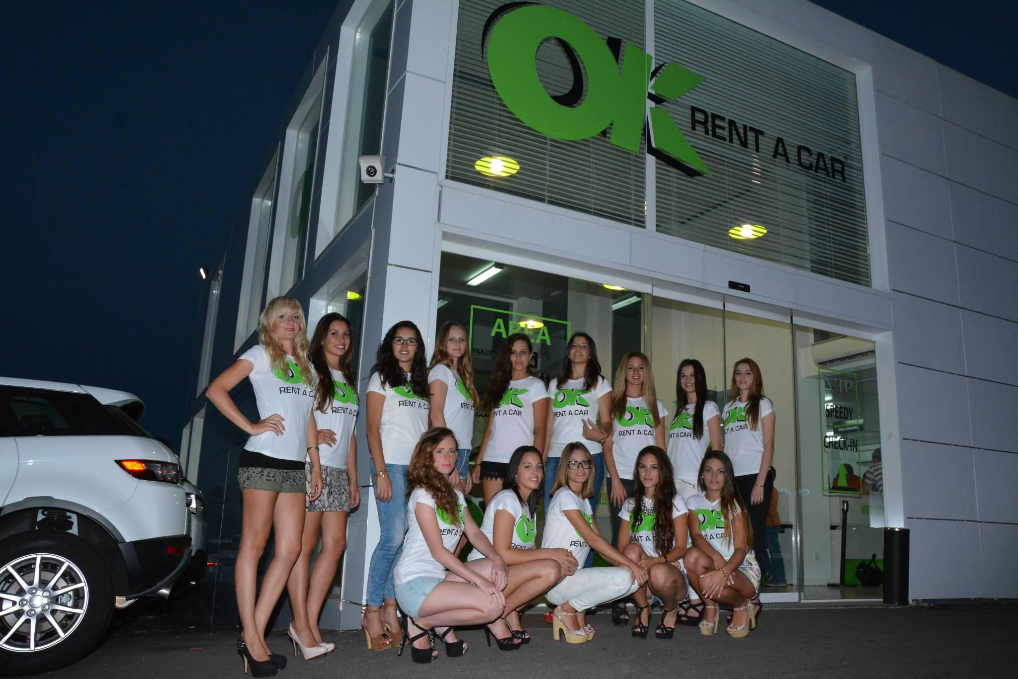 Las misses visitan ok rent a car ok group for Oficina turismo mallorca