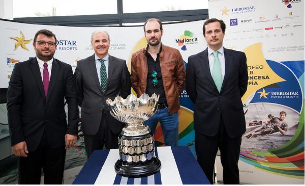 Acto de presentación del 47 Trofeo Princesa Sofía IBEROSTAR