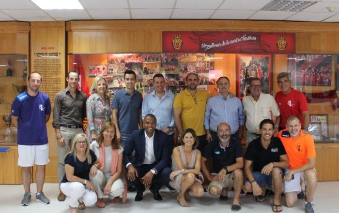 Asistimos al desayuno con patrocinadores organizado por la Fundación Real Mallorca