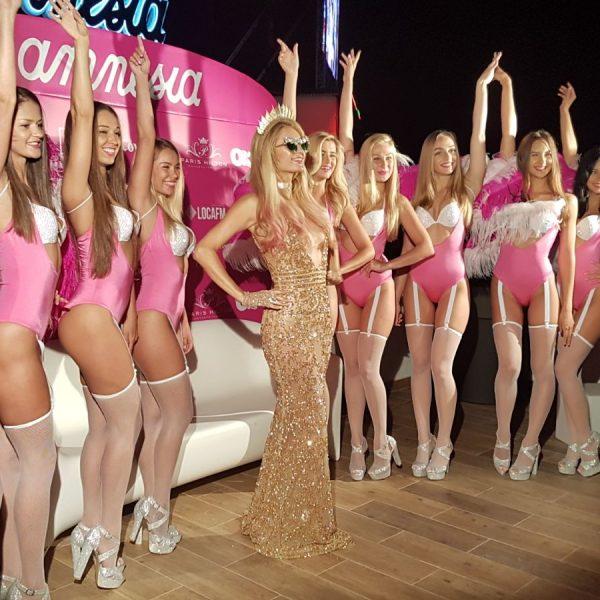 Paris Hilton en Amnesia
