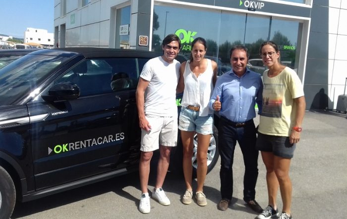OK Rent a Car patrocina el Torneo de Padel Solo Dona