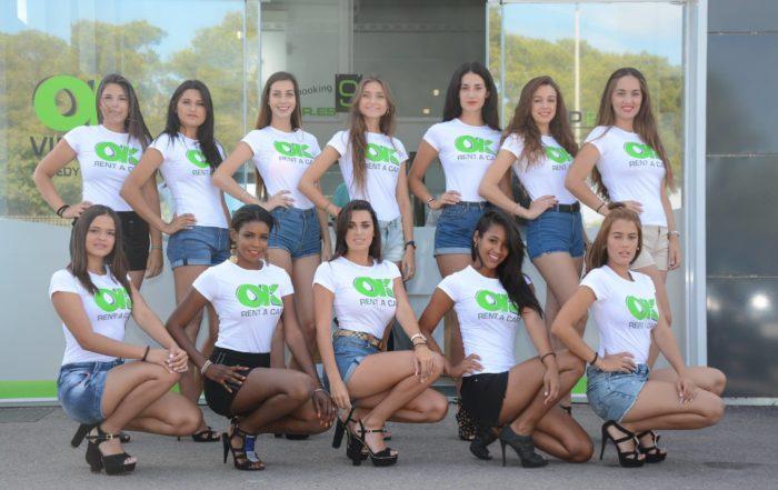 OK Rent a Car colabora con el certamen Miss Turismo Islas Baleares 2017