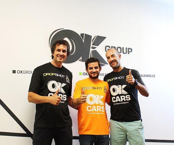 OK Cars patrocina el equipo que representará a Mallorca en el Campeonato de España de Pádel de Policías y Bomberos