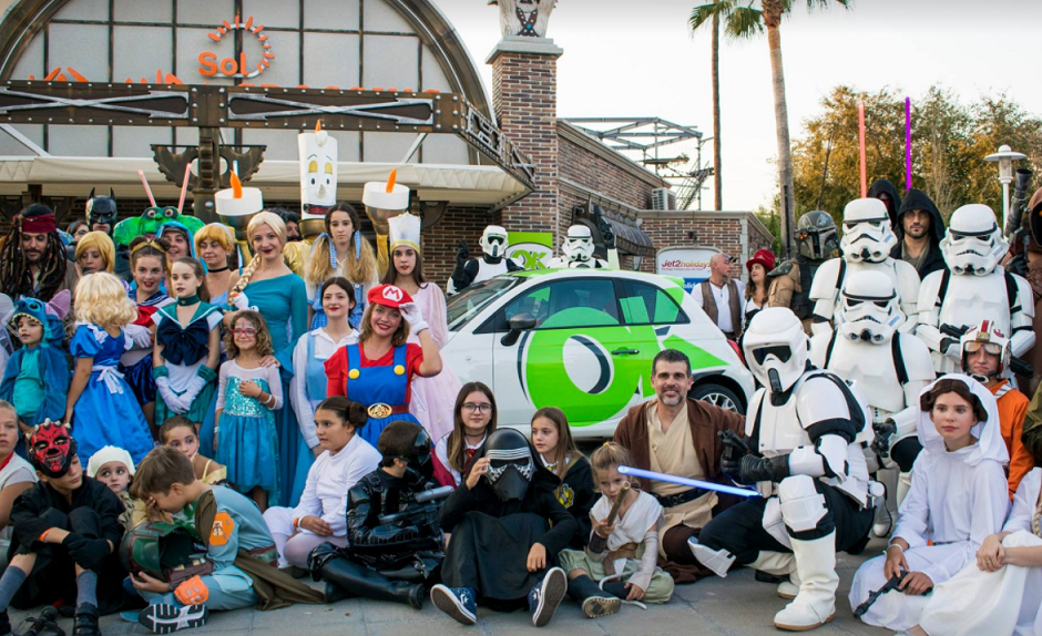 El universo Star Wars llega a Mallorca con OK Rent a Car