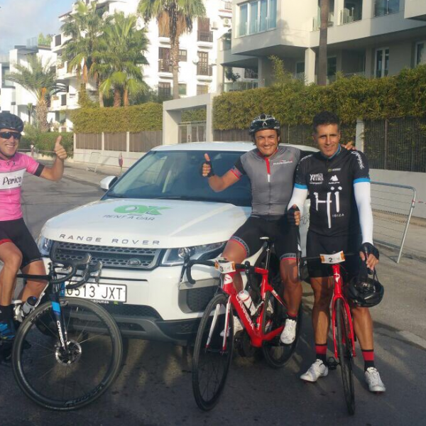 OK Rent a Car patrocina la Vuelta Cicloturista Ibiza
