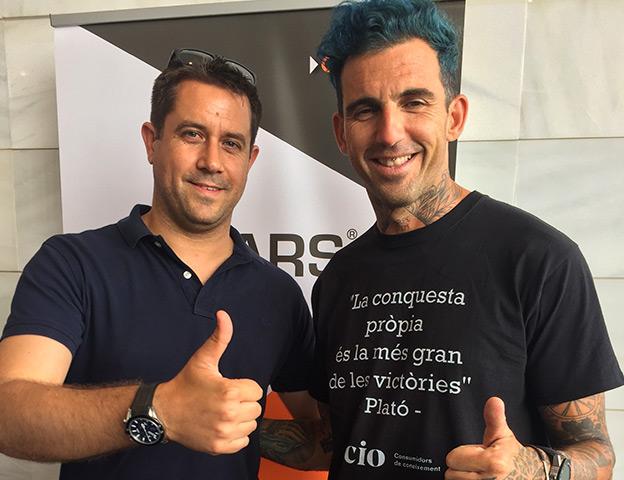 Josef Ajram in Mallorca with OK Cars
