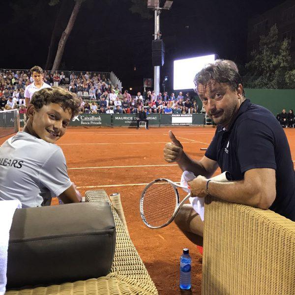 El joven tenista y embajador OK, Marc Ktiri, suma nuevos hitos a su carrera