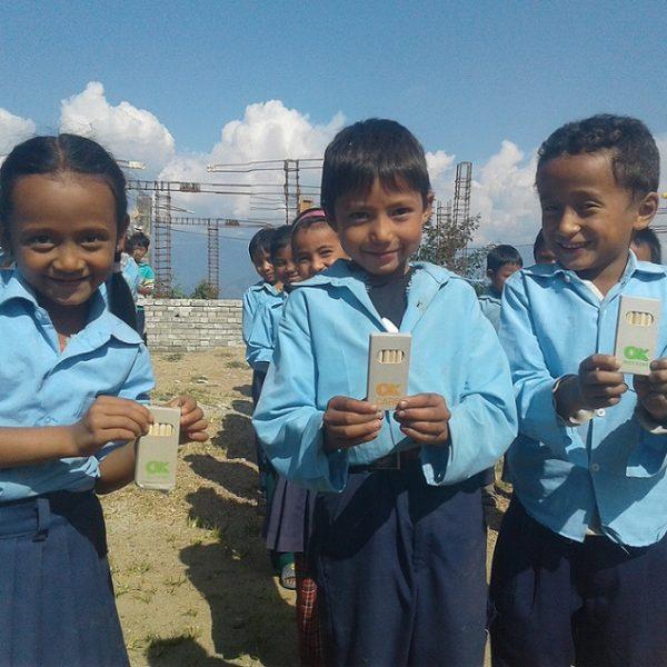 OK Group colabora con la asociación balear Hugging Nepal