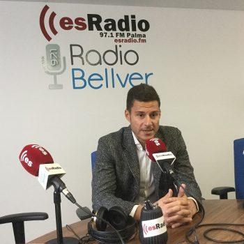 El Presidente Ejecutivo y Fundador de OK Group, Othman Ktiri, entrevistado en esRadio Baleares