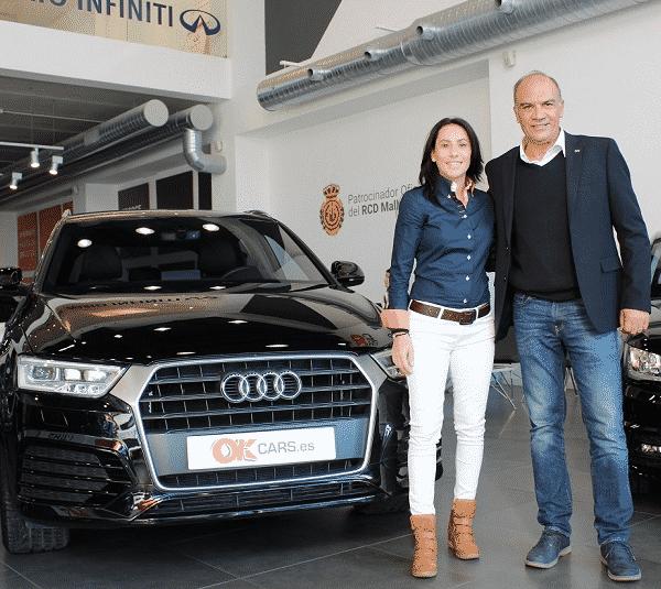 European and World Taekwondo Champion, Brigitte Yagüe, chooses OK Cars