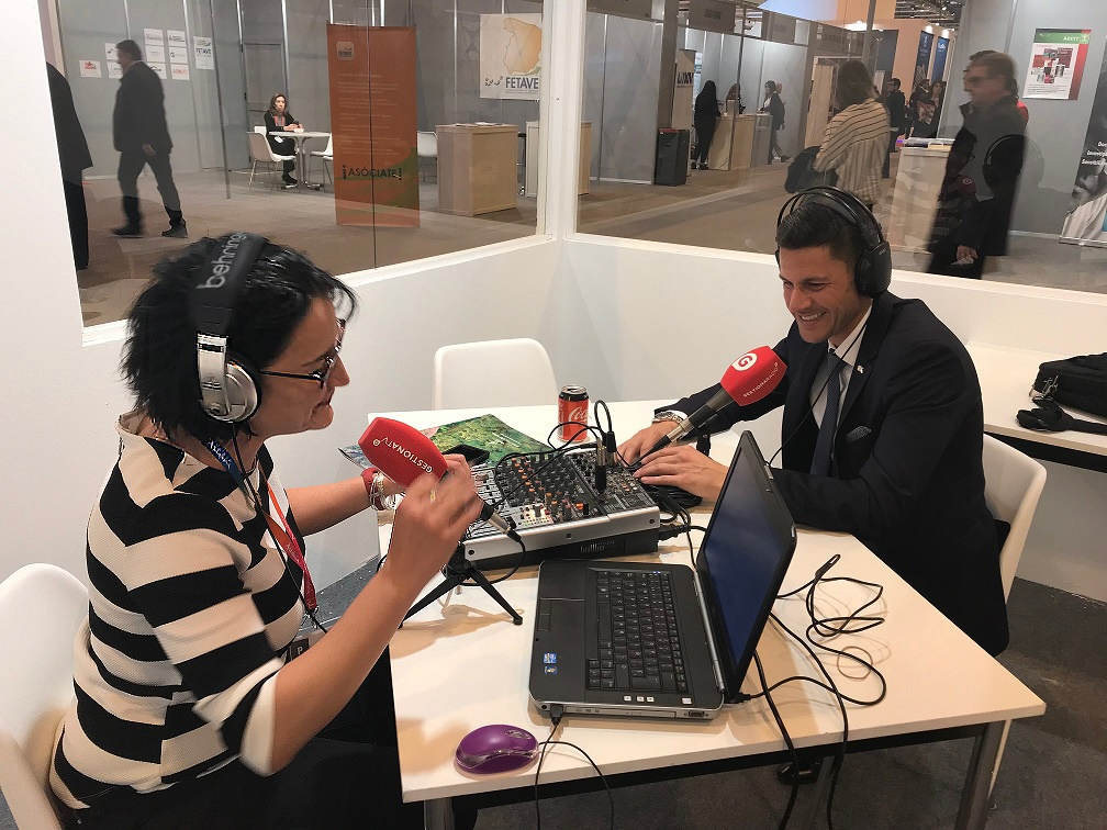 Entrevista al CEO de OK Group, Othman Ktiri, en Gestiona Radio