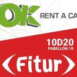 OK Rent a Car participa por 6ª año consecutivo en FITUR