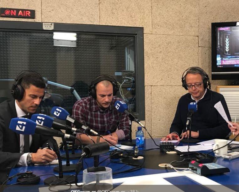 """El Presidente Ejecutivo y Fundador de OK Group, Othman Ktiri, entrevistado en el espacio """"Entre tu i jo"""" de Canal 4 Ràdio"""