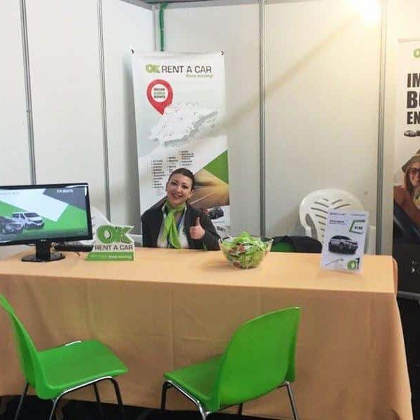 OK Rent a Car participa en la III Feria Pro Turisme de Alaior (Menorca)