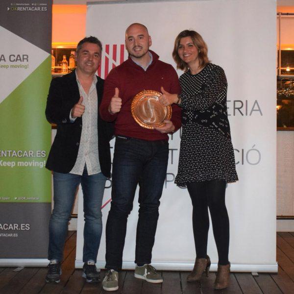 OK Rent a Car ha estado presente en la entrega de premios de la Gala del Atletismo de las Islas Baleares