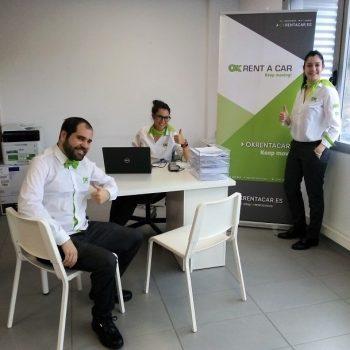 Ya se pueden reservar vehículos OK Rent a Car en nuestra oficina de Bilbao