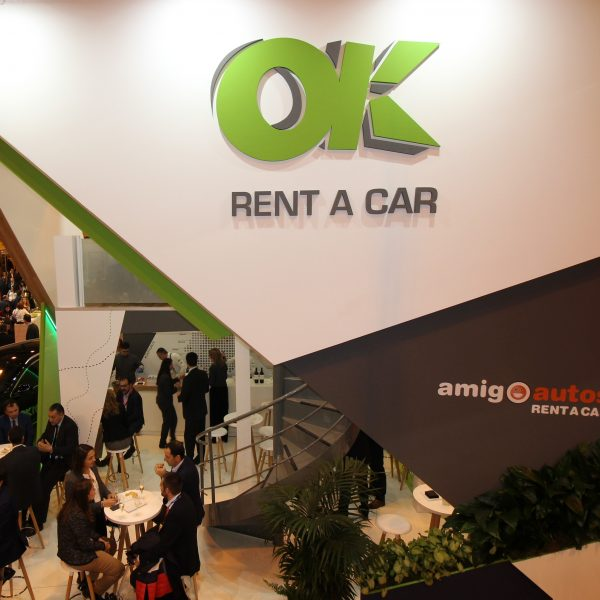 Stand de OK Rent a Car