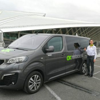 OK Rent a Car en el aeropuerto de Bilbao