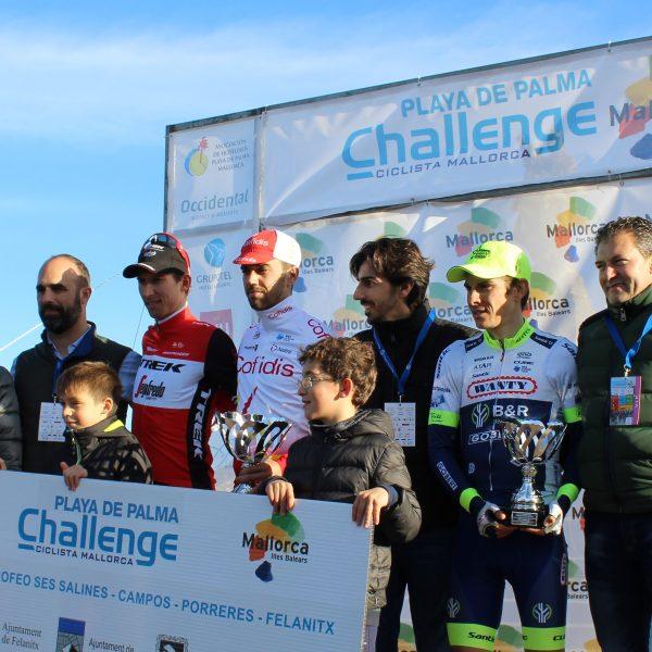 Entrega trofeos Challenge Ciclista
